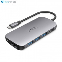 VAVA VA-UC006 8合1 USB-C MacBook 集線器 (8-in-1 Hub)