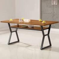 《Homelike》登貝工業風5尺餐桌