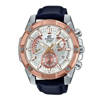 CASIO EDIFICE CHRONOGRAPH EFR-559GL-7AVUDF STAINLESS STEEL BLACK MENS WATCH