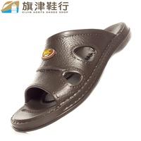 (工廠直發貨#678 咖啡色 瑞) 360度C 一體成型 超輕量 eva 拖鞋 防水 休閒 防滑 耐磨 - 旗津鞋行
