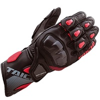 RS Taichi (ERS Taichi) Motorcycle Glove Black / Red (L) GP-WRX Racing Glove NXT 052