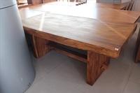【石川柚木】UG-113 鐵木厚板原木餐桌 /泡茶桌 /會議桌 /多功能使用