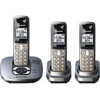 (REFURBISHED) Panasonic KX-TG6433M Digital 6.0 DECT 3-Handsets Cordless Phone (Export).
