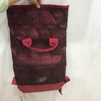Red Issey Miyake X Adidas bag