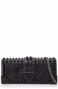 Prada City Calf Saffiano Cahier Bag Sling
