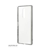 【RASTA BANANA】 Xperia 1 耐衝擊複合邊框 (透明黑款)