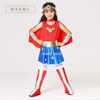 ECG253【派對樂】萬聖節服裝/舞會變裝派對/生日派對.神力女超人_神力女超人