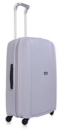 Lojel Streamline Polypropylene Medium Upright Spinner Luggage, Grey, One Size