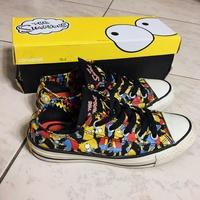 The Simpsons辛普森家庭 x CONVERSE 聯名款 低筒 帆布鞋 146811C