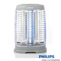 飛利浦 PHILIPS 15W 光觸媒除菌安心捕蚊燈  (灰色) E350 簡單生活館