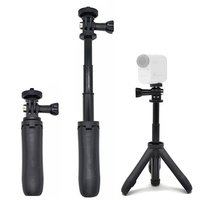 discount Handheld Mini Tripod Mount Selfie Stick Extendable Monopod for Sony Mini Cam Action Camera