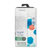 BRABANTIA Ironing Board Cover C 124x45cm PerfectFlow Colour Spots