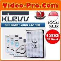 Klevv Neo N500 120GB 2.5Inch 3D Nand SSD Read Upto 520MB/s Write : Upto 470MB/s D120GAA-N500