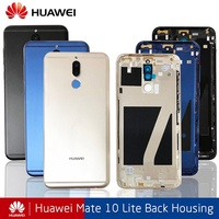 my love Huawei Mate 10 Lite Battery Cover Back Housing For Huawei Nova 2i Rear Door Case For Mate 10