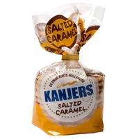 荷蘭好物*(兩包一組)*荷蘭道地Kanjers Stroopwafels鹽漬焦糖華夫餅***10片