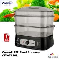 Cornell 25L Food Steamer - CFS-EL20L (1 Year Warranty)