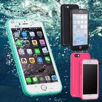 防水手機殼 蘋果I6 I6+ I7 I7+ I8 I8+ 防水殼 全包覆手機保護殼 現貨 人魚朵朵