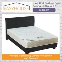 King Koil Posture Bond Spring Mattress 9.5″ | Bedroom | Available in Single/Super Single/Queen/King