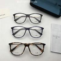 新款GUCCI學光鏡方框近視鏡男女可配近視鏡 學生眼鏡架潮文藝眼鏡框