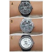 海賊王手錶 海賊王 海賊王手錶 海賊王航海王 手錶 鋯鑽手錶 金屬錶帶 鋯鑽手錶 ONE PIECE 正版 全新海賊王手