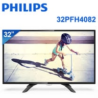 ★PHILIPS 飛利浦 32吋LED液晶顯示器+視訊盒32PFH4082 送HDMI線+樂扣玻璃杯