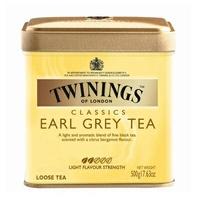 伯爵茶《TWINING唐寧》EARL GREY TEA 皇室御用伯爵茶 500g/罐