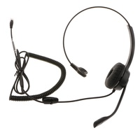 VH560 Office Call Centre Customer Service Headset Microphone RJ9 Connector