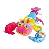 Doudou  彩色龍蝦聲音玩具布偶(37cm)