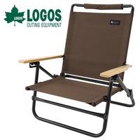 【LOGOS 日本】高背爐邊椅 三段功能 休閒椅 露營椅 摺疊椅 (LG73172022)
