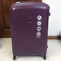 *PRICE REDUCED* DELSEY BELFORT Purple Luggage