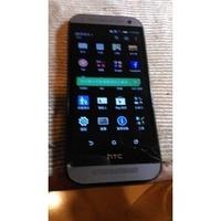 HTC M8支援4G LTE( One mini 2)太空灰1300萬畫素.內建16G.(零件機)