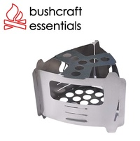Bushcraft essentials 不鏽鋼三角口袋爐 柴爐 Bushbox Ultralight 德國製 BCE-027
