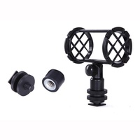 PKPNS BOYA BY-C04 Camera Shoe Microphone Shockmount Microphones Stand