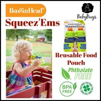 BooginHead SqueezEms Reusable Food Pouch