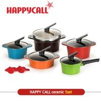 [Happy call] Happycall Alumite Ceramic Series /5pots set/Made in Korea/ happycall pot/ pot set /★18c