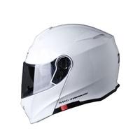 SBK TANK-3 亮白 素色 /可樂帽/ 全罩式安全帽 /雙D扣/內襯 /流線型外觀 【歐樂免運】