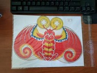 🚚 Traditional Chinese small kite 中国传统工艺小风筝