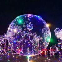 ♡♥佩姬の雜貨♥♡ LED氣球燈 喜宴 求婚 聖誕節浪漫發光氣球彩燈裝飾燈 波波球 情人節 派對 慶生會 氣球燈