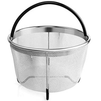 Steamers, Stock & Pasta Pots Aterod Steamer Basket for 6 or 8 Quart Instant Pot Pressure Cooker, Stainless Steel Steam Insert with Premium Silicone Handle and Non-Slip Legs for 6 or 8 quart Instant Pot,Other Pressure Cookers/PotsTupperware - intl