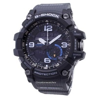 Casio G-Shock Mudmaster Twin Sensor 200M Analog Digital Men's Black Resin Strap Watch GG-1000-1A8