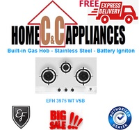 EF BUILT-IN GAS HOB - STAINLESS STEEL - BATTERY IGNITION EFH 3975 WT VSB