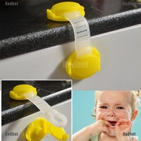 Redhot 2/5/10 X Toddler Baby Safety Lock Kids Drawer Cupboard Fridge Cabinet Door Lock