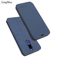 Flip Leather Case For Huawei Mate 10 lite Wallet Book Cover for Huawei Mate10 lite Honor 9i Nova 2i