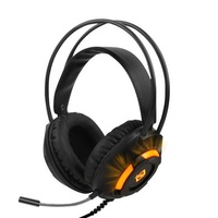 AJazz AX120 USB Powered 3.5mm Audio SPK MIC Jack Gaming Headphone Headset