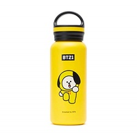 [sb]BT21 BTS Official Merchandise by Line Friends - CHIMMY 16-Ounce Vaccum Drinking Tumbler with Lid