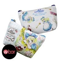 日本愛麗絲夢遊仙境少女漫畫風收納包 小物包 化妝包 口紅包 零錢包 收納袋 鑰匙包 耳機包 Alice 小甜甜漫畫