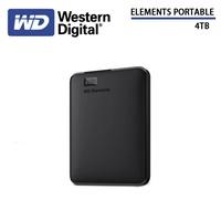 WD Elements 4TB 2.5吋外接式硬碟(WESN)