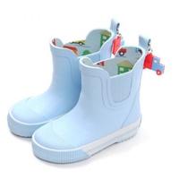 韓國 OZKIZ - 橡膠防滑透氣兒童雨鞋-車車王國