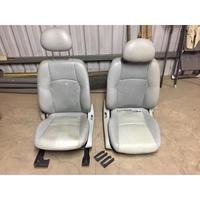 賓士 W203 S203 原廠皮椅 灰色 電動正常 無缺件