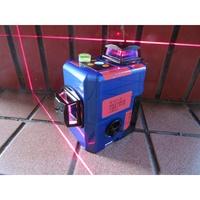 *中崙五金【附發票】3D-R 雷射水平儀 (送接收器) 貼磨 機 基 紅光 貼牆壁 磨基雷射水平儀 三倍紅光限量優惠價